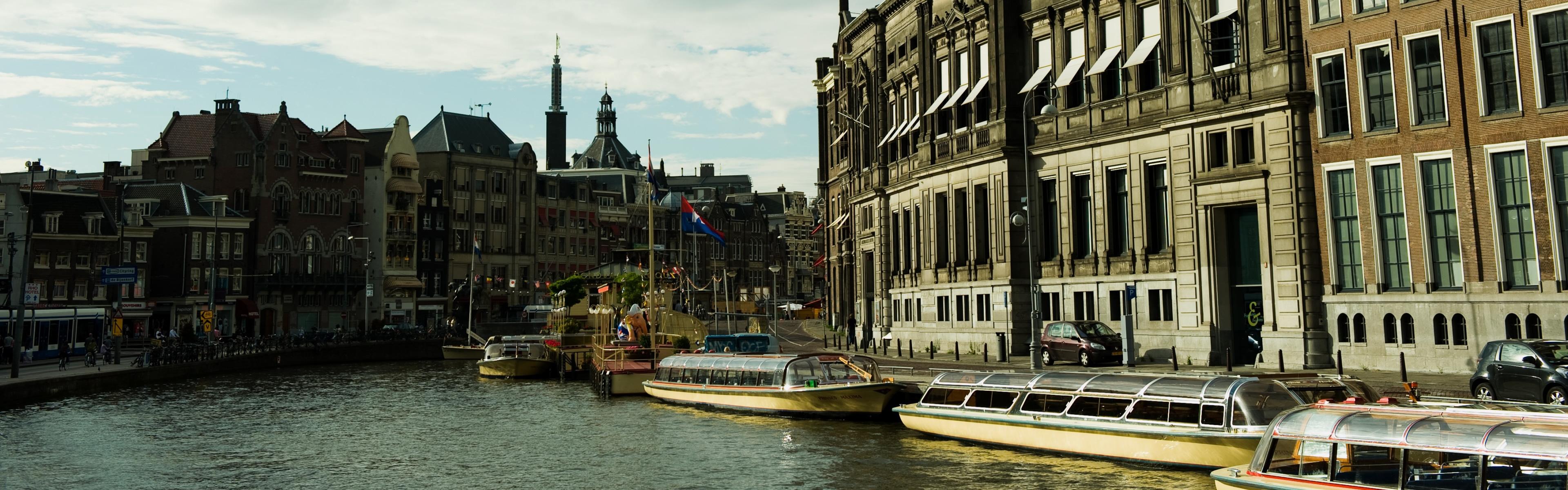 Rokin-Amsterdam-iphone-panoramic-wallpaper-ilikewallpaper_com